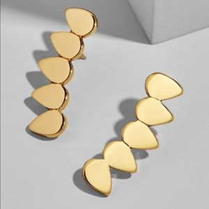 Baublebar Gold Celine Ear Crawler Earrings